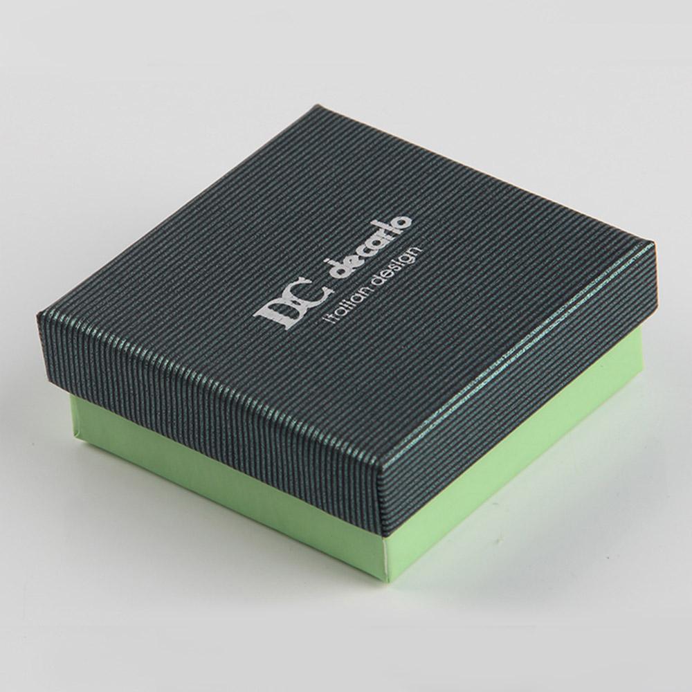耳环包装订做100个和1000个钢铁标签盒子居然价格相差无几